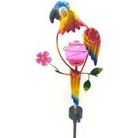 Solar Parrot Stake Light