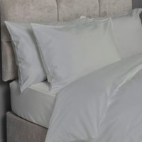 Luxe Cotton 400 Thread Count Fitted Sheet - Silver / King