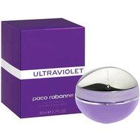 Paco Rabanne Ultraviolet Eau de Parfum Womens Perfume Spray 80ml - Purple