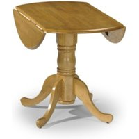 Dundee Table and Two Fiddleback Chairs Set - Honey pine