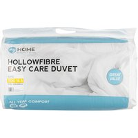 My Home 10.5 Tog Duvet - White / King size