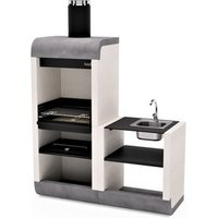 Barbecue Sud Plus With Side Stand