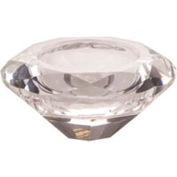 Crystal Candle Holder - Clear