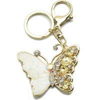 60mm Butterfly Handbag Buckle Charm - Gold