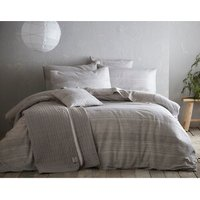 Portfolio Home Admiral Duvet Cover and Pillowcase Set - Grey / Single