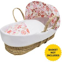 Sunflower Moses Basket Bedding Set