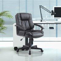 'Swivel Executive Office Chair  - Black