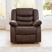 Eastford Electric Riser Recliner with Massage and Heat - Brown