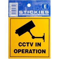 'Cctv In Operation E Code Sticker
