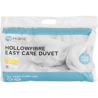 My Home 10.5 Tog Duvet - White / Double