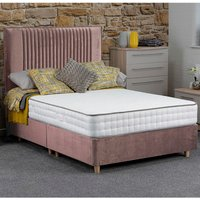 Jonas and James Hadleigh Divan Bed Set With Mattress - Blush / Single / 2