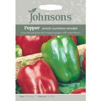 Pack of California Wonder Sweet Pepper Seeds