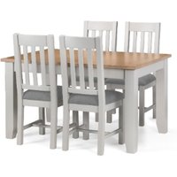 Richmond Extending Dining Table and 4 Chair Set