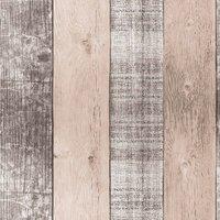 Country Plank Blush Wallpaper