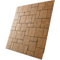 Chalice Outdoor Paving Kit - Honey Brown