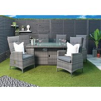 7 Piece Windsor Fire Pit Set