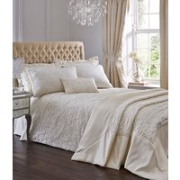 Spencer Quilted Throw - Ivory