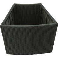 Canadian Spa Curved Rattan Planter for Round Hot Tub