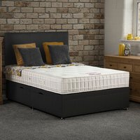 Bideford Side Lift Ottoman Bed - Black / Single