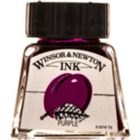 Winsor and Newton 14ml Drawing Ink - Purple