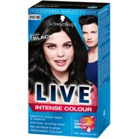Schwarzkopf Live Hair Intense Colour - Black 099
