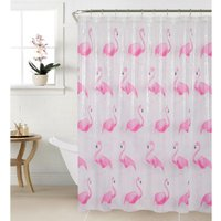 'Flamingos Shower Curtain