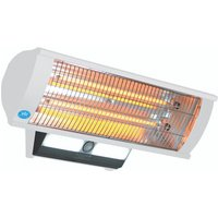 Prem-I-Air 2.3 kW Calor-Luz Wall Mounted Patio Heater with Light, Remote Control and Sensor - White