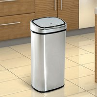 Sensor Bin 68L Automatic Kitchen Waste  - Silver