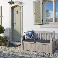 Keter Eden Bench Storage Box  - 265l / 60cm