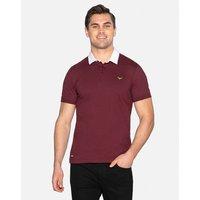 Burgundy Lomu Cotton Rugby Shirt - Burgundy / XXL