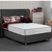 Jonas and James Dartmoor Divan Bed Set - Plush Steel / Single / 2 / 1350mm
