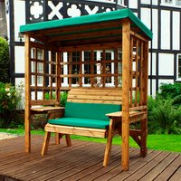 Charles Taylor Wentworth Two Seat Arbour - Green