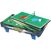 3-in-1 Multi Games Table Activity Set
