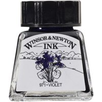 Winsor and Newton 14ml Drawing Ink - Violet