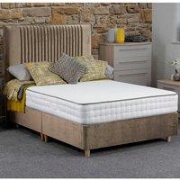 Jonas and James Hadleigh Divan Bed Set With Mattress - Stone / Single / 4