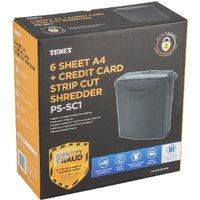 Texet Strip Cut A4 Paper Shredder