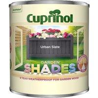 Cuprinol Garden Shades Paint - Urban Slate / 1l