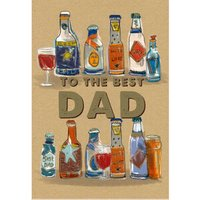 Fathers Day Beer Bottle Card