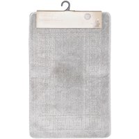 Bath Mat Set - Silver
