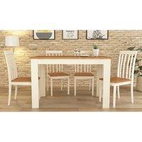 Lexington Table With Four Chairs - Cream