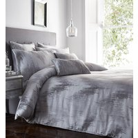 Quartz Duvet Cover and Pillowcase Set - Silver / Double