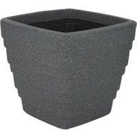 Square Trojan Planter - Grey / 30cm