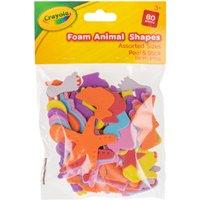'Crayola Assorted Foam Animal Shape Pack