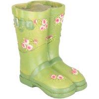 Wellington Boots Planter - Green