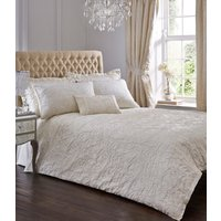 Spencer Duvet Cover and Pillowcase Set - Ivory / Double