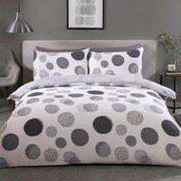 Dalston Spot Duvet and Pillow Case Set - Double