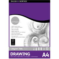 Daler-Rowney Simply Drawing Pad - A4