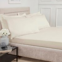 Polycotton Fitted Sheet - Vanilla / Single