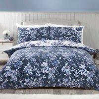 Delphine Floral Duvet Cover and Pillowcase Set - Double