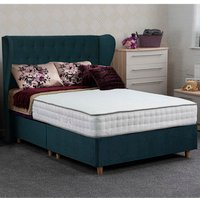 Jonas and James Dartmoor Divan Bed Set - Plush Ocean / Single / 4 / 1500mm